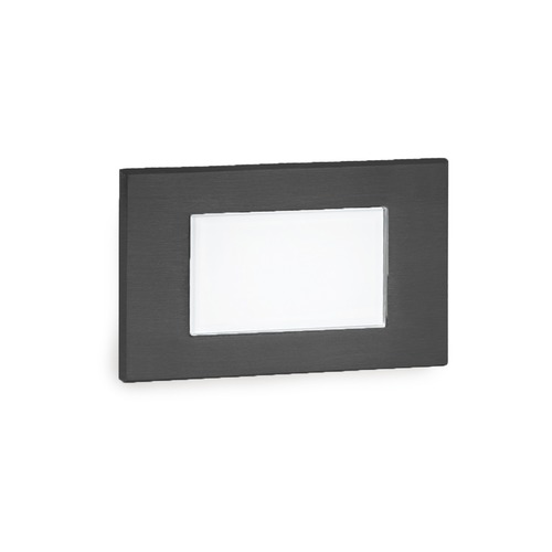 WAC Lighting LED Low Voltage Diffused Step and Wall Light 4071-27BK