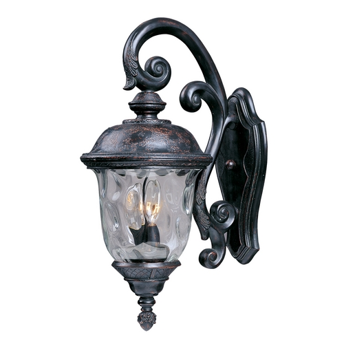 Maxim Lighting Maxim Lighting Carriage House Dc Oriental Bronze Outdoor Wall Light 3497WGOB
