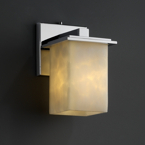 Justice Design Group Justice Design Group Clouds Collection Sconce CLD-8671-15-CROM