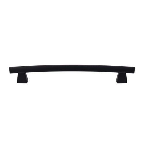 Top Knobs Hardware Modern Cabinet Pull in Flat Black Finish TK7BLK