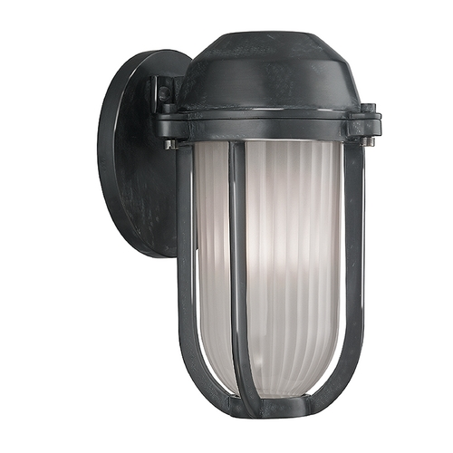 Hudson Valley Lighting Hudson Valley Lighting Pompey Aged Zinc Sconce 980-AZ