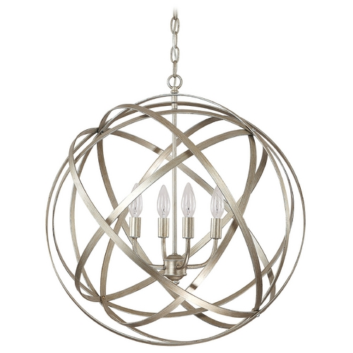 Capital Lighting Capital Lighting Winter Gold Pendant Light 4234WG