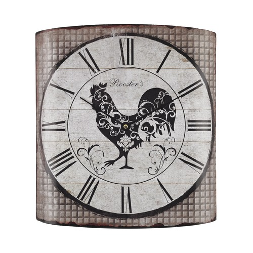 Sterling Lighting Stylized Rooster Wall Clock 171-008