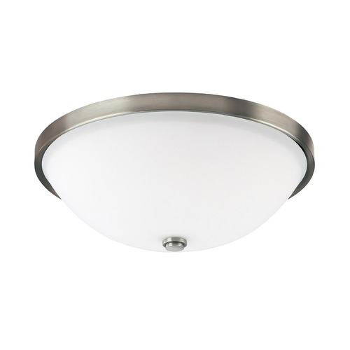 Capital Lighting Capital Lighting Covington Antique Nickel Flushmount Light 2323AN-SW