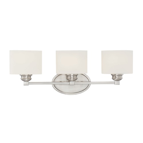 Savoy House Savoy House Lighting Kane Satin Nickel Bathroom Light 8-890-3-SN