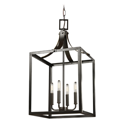Sea Gull Lighting Sea Gull Lighting Labette Heirloom Bronze Pendant Light 5340604-782