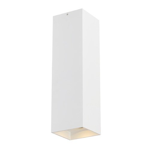 Tech Lighting White LED Semi-Flush Ceiling Light by Tech Lighting 700FMEXO1860WW-LED935