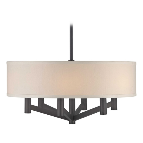 Design Classics Lighting 20-Inch Bronze Rochelle Ceiling Pendant Light 1610-TB