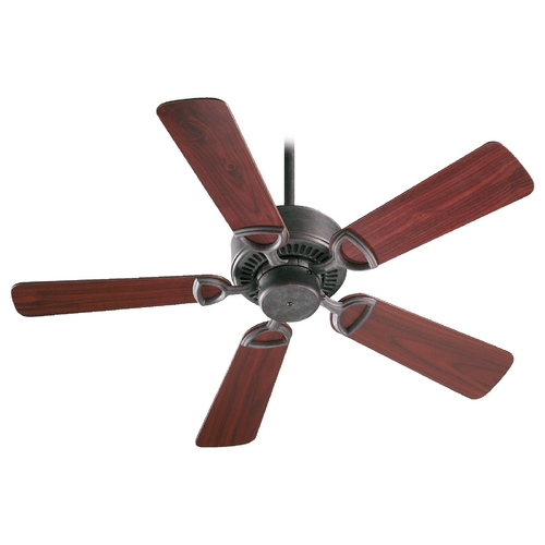 Quorum Lighting Quorum Lighting Estate Toasted Sienna Ceiling Fan Without Light 43425-44