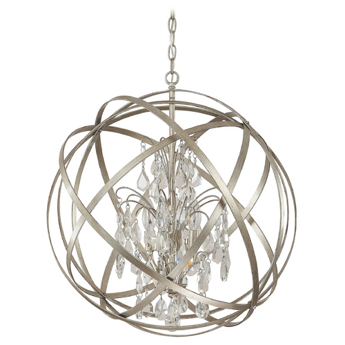 Capital Lighting Capital Lighting Winter Gold Pendant Light 4234WG-CR