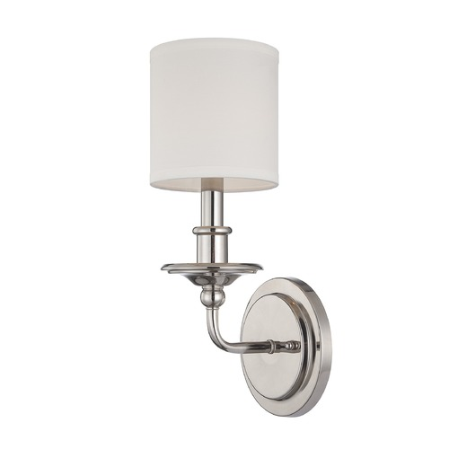 Savoy House Savoy House Polished Nickel Sconce 9-1150-1-109