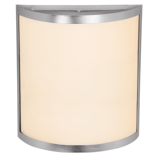 Access Lighting Access Lighting Artemis Brushed Steel LED Sconce 20439LEDD-BS/OPL