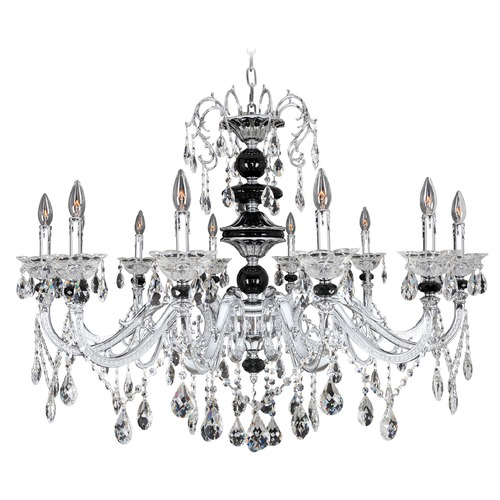 Allegri Lighting Allegri Faure 10-Light Crystal Chandelier in Chrome 024353-010-FR001