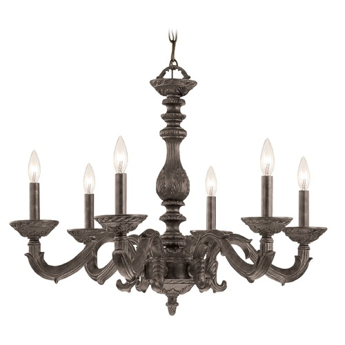 Crystorama Lighting Crystorama Lighting Paris Market Venetian Bronze Chandelier 5126-VB