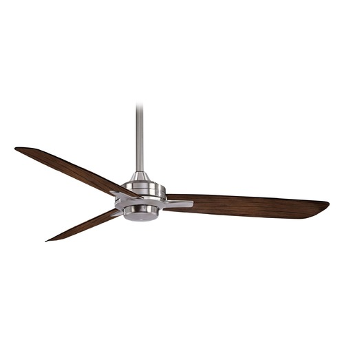 Minka Aire 52-Inch 3 Blade Ceiling Fan Brushed Nickel by Minka Aire F727-BN/MM