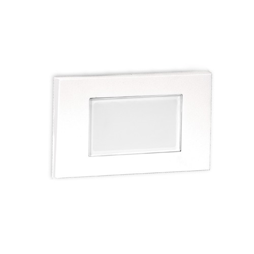 WAC Lighting LED Low Voltage Diffused Step and Wall Light 4071-27WT