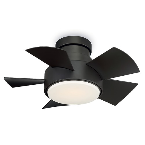 Modern Forms by WAC Lighting Modern Forms Bronze 26-Inch LED Smart Ceiling Fan 2041LM 3000K FH-W1802-26L-BZ