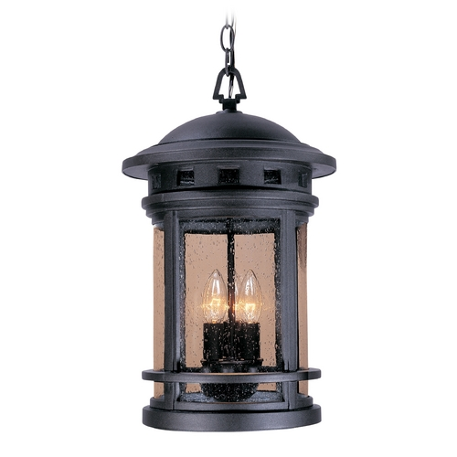 Designers Fountain Lighting Outdoor Hanging Light with Clear Glass in Oil Rubbed Bronze Finish 2394-ORB
