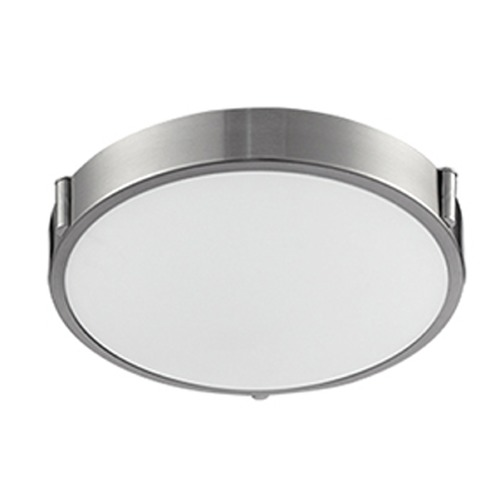 Kuzco Lighting Kuzco Brushed Nickel LED Flushmount Light 501102-LED