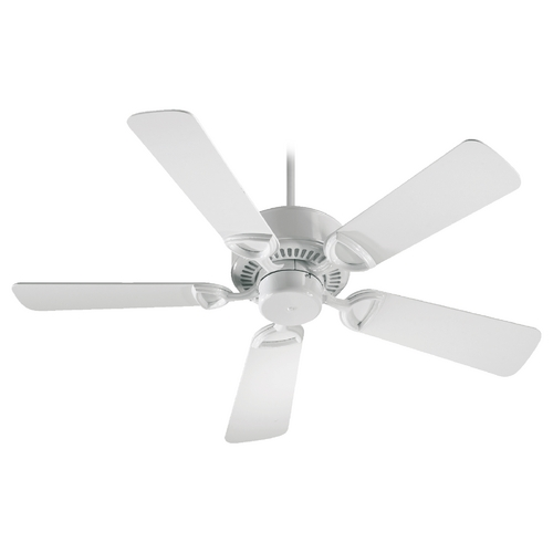 Quorum Lighting Quorum Lighting Estate White Ceiling Fan Without Light 43425-6