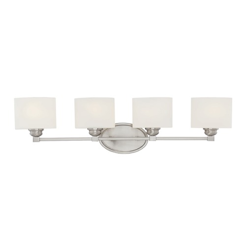 Savoy House Savoy House Lighting Kane Satin Nickel Bathroom Light 8-890-4-SN