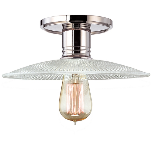 Hudson Valley Lighting Semi-Flushmount Light in Polished Nickel Finish 8100-PN-GS4