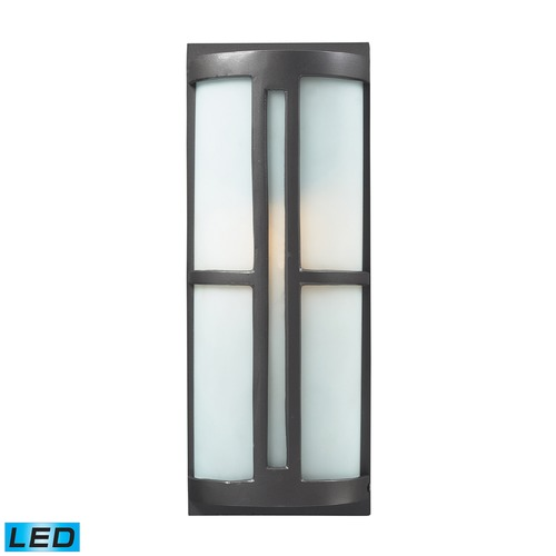 Elk Lighting Elk Lighting Trevot Graphite LED Outdoor Wall Light 42395/1-LED