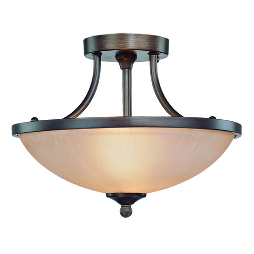 Craftmade Lighting Craftmade Spencer Bronze Semi-Flushmount Light 26122-BZ