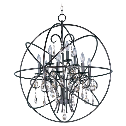 Maxim Lighting Maxim Lighting Orbit Oil Rubbed Bronze Pendant Light 25145OI