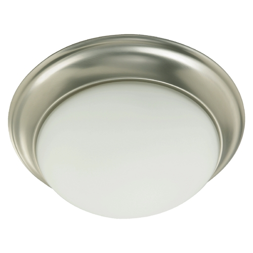 Quorum Lighting Quorum Lighting Satin Nickel Flushmount Light 3507-11-65