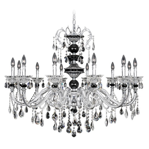 Allegri Lighting Faure 12 Light Crystal Chandelier 024354-010-FR001