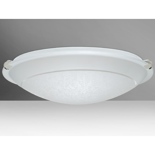 Besa Lighting Besa Lighting Trio Polished Nickel LED Flushmount Light 9680SFR-LED-PN
