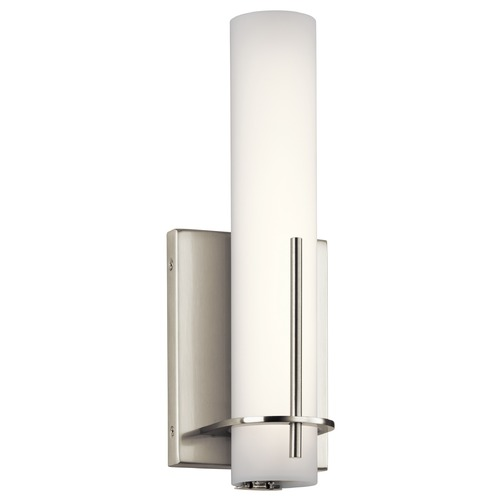 Elan Lighting Elan Lighting Traverso Brushed Nickel LED Sconce 83757