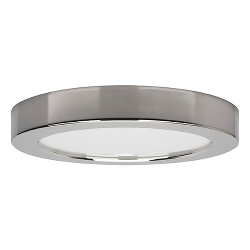 Satco Lighting Satco 5-Inch Round Polished Chrome LED Surface Mount Light 10.5W 3000K 600LM S21525