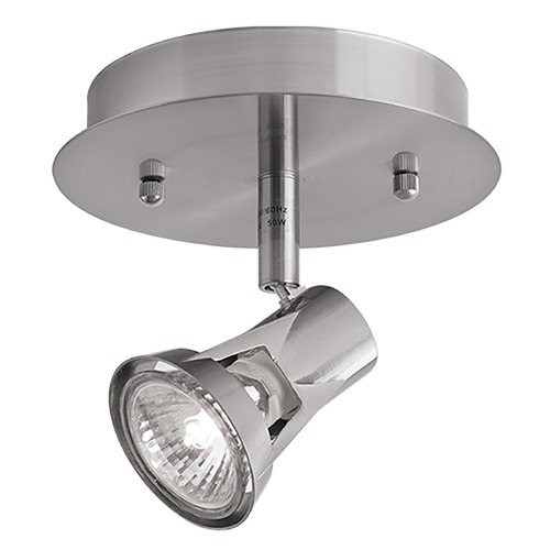 Kuzco Lighting Kuzco Lighting Gatwick Brushed Nickel Monopoint Spot Light 81611BN