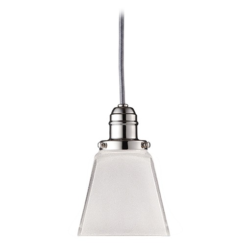 Hudson Valley Lighting Mini-Pendant Light with White Glass 3101-PN-436