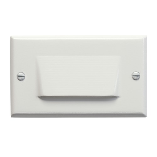 Kichler Lighting Kichler LED Recessed Step Light in White Finish 12602WH