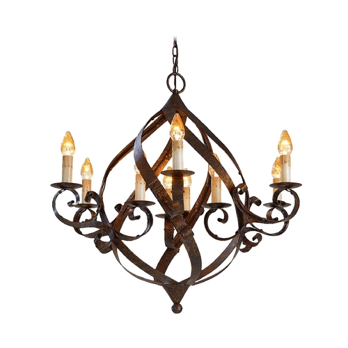 Currey and Company Lighting Chandelier in Mayfair Finish 9528