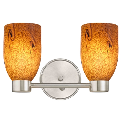 Design Classics Lighting Aon Fuse Satin Nickel Bathroom Light 1802-09 GL1001D