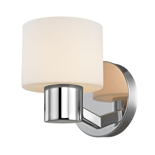 Design Classics Lighting Mai Chrome Sconce 1034-26