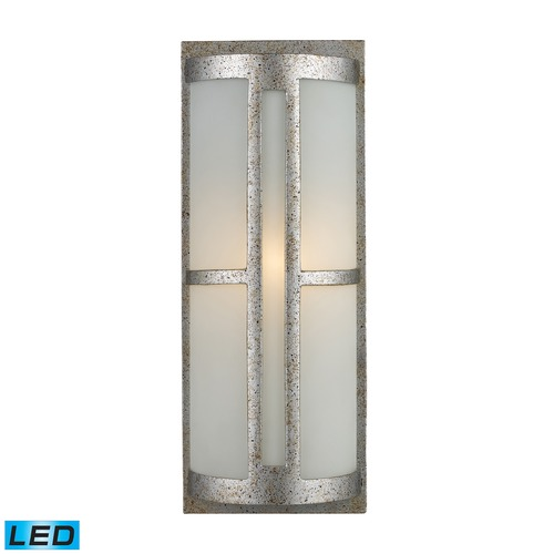 Elk Lighting Elk Lighting Trevot Sunset Silver LED Outdoor Wall Light 42095/1-LED