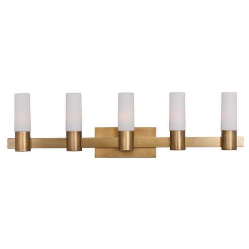 Maxim Lighting Maxim Lighting Contessa Natural Aged Brass Bathroom Light 22415SWNAB