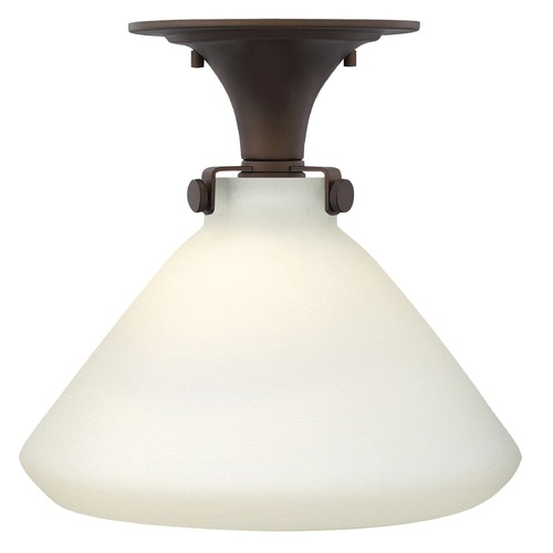 Hinkley Lighting Hinkley Lighting Congress Oil Rubbed Bronze Flushmount Light 3141OZ-GU24