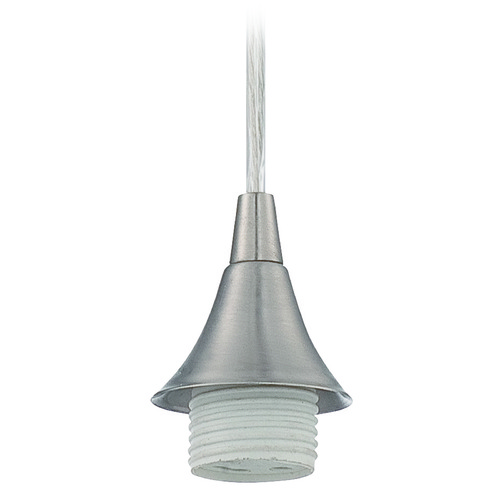 Jeremiah Lighting Jeremiah Lighting Brushed Nickel Mini-Pendant Light CPM-BNK-GU24