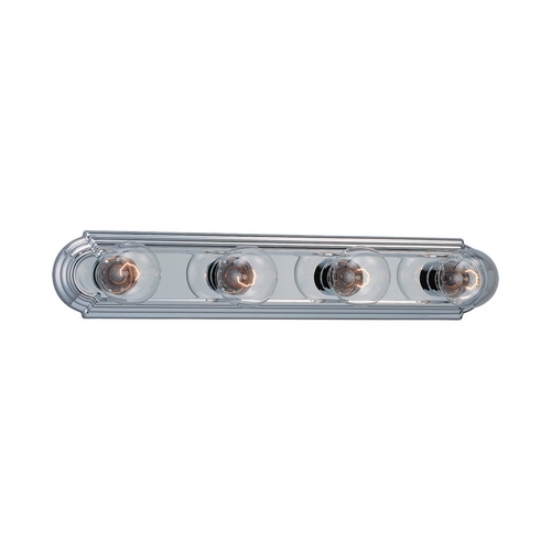 Sea Gull Lighting Bathroom Light in Chrome Finish 4701-05