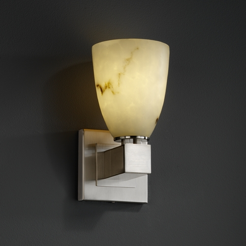 Justice Design Group Justice Design Group Clouds Collection Sconce CLD-8705-18-NCKL