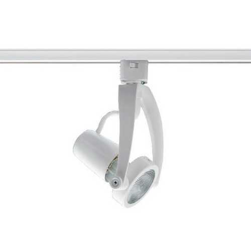 Juno Lighting Group Small Wishbone Light Head for Juno Track in Satin Chrome T482 SC