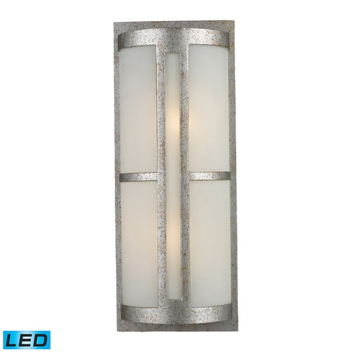 Elk Lighting Elk Lighting Trevot Sunset Silver LED Outdoor Wall Light 42096/2-LED