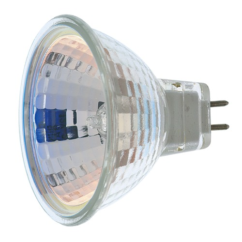 Satco Lighting MR-16 Halogen Light Bulb 2 Pin Flood 36 Degree Beam Spread 2900K 12V Dimmable S1964