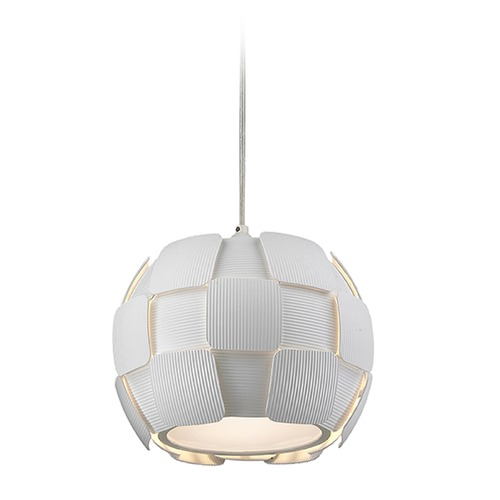 Access Lighting Access Lighting Layers White Pendant Light 50903-WH/WH